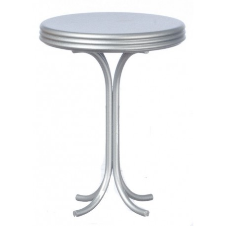 Round Tall Table/silver