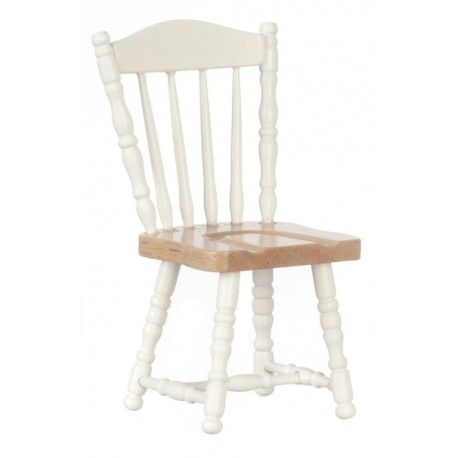 Chair/white/oak/cb