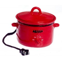 Electric Crockpot/red