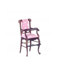 Windsor High Chair/Mahogany