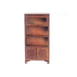 Bookcase/1 Glass Door/wal