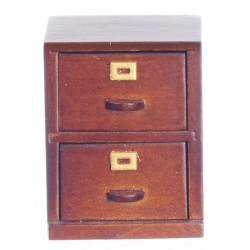 2-drawer File Cab/waln/cb