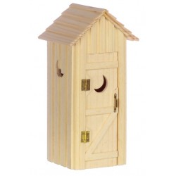 Single Seater Outhouse