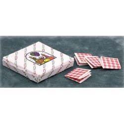Pizza Box/4 Napkins