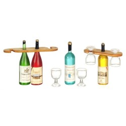 Wine And Glasses Display
