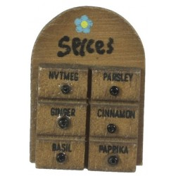 Spice Rack/Walnut
