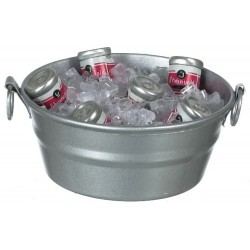 Tub w/ice/canned Drinks
