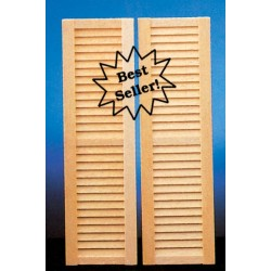 Louvered Shutters/set/2