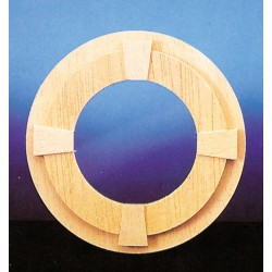 Circle Window w/trim