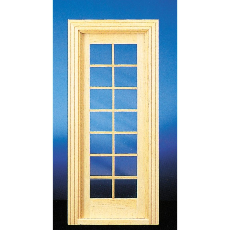 Door Single French : Single french door dollhouse doors superior