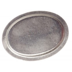 Oval Tray/tin/6pcs