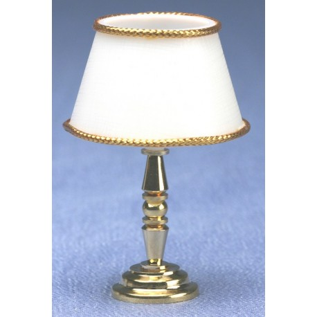 Brass table lamp 12v dollhouse miniature lamps for 12v table lamp