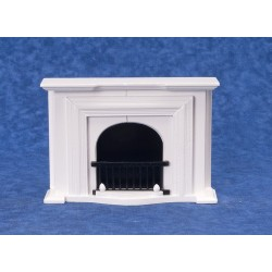Fireplace/white/cb