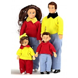 Casual Doll Family/4/brn