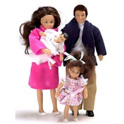 Modern Doll Family/4  Brunette