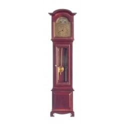 Quartz Clock/Mahogany