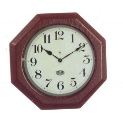 Octagon Wall Clock