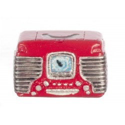Retro Radio/red