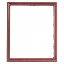 Square Metal Frame/brown