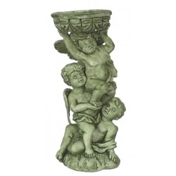 Angels Bird Bath/green