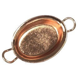 Oval Gratin Pan/copper