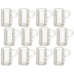Beer Mugs/clear/12