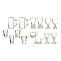 Kitchen/dining St/glasses