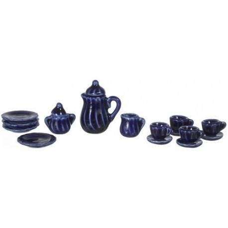 Cobalt Blue China Set/17