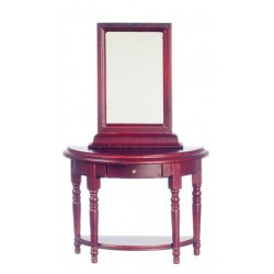 Hall Table/mirror/Mahogany