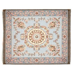 Aubusson Rug/antique Blue
