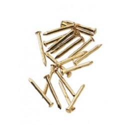Brass Pin Nail 100pc/pkg