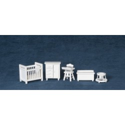 1/2in Baby Room/set/5/wht