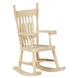 Charmant Rocking Chair/unfinished