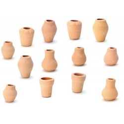 Clay Pots/assorted/12