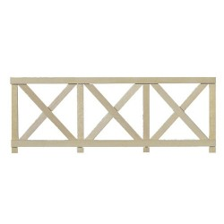 Crossbuck Fence/6pcs