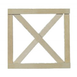 Crossbuck Fence Gate/2pcs
