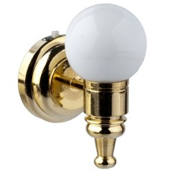 LED Wh.globe Wall Sconce