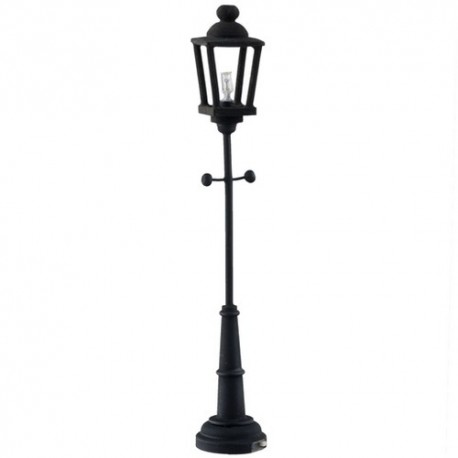 LED Black Yard Lamp