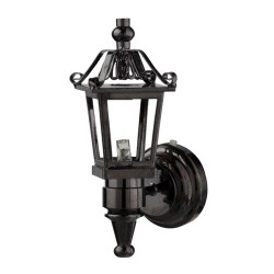LED Bl.nickel Coach Lamp