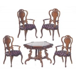 Monte Carlo Table Set/5/w
