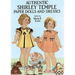 Authentic Style Shirley Temple Paper Dolls