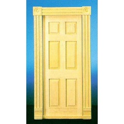 Trad 6 Panel Interior Door