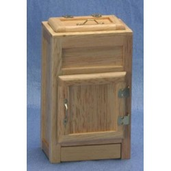 2-Door Ice Box  Oak