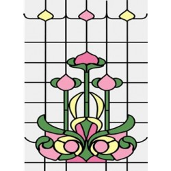 Stained Glass fits CLA76018/HW6018