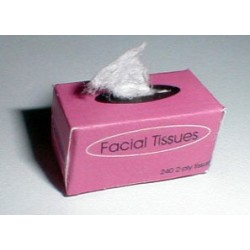 Rose Facial Tissues