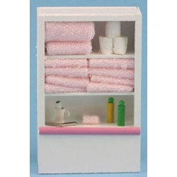 Linen Cupboard in Pink
