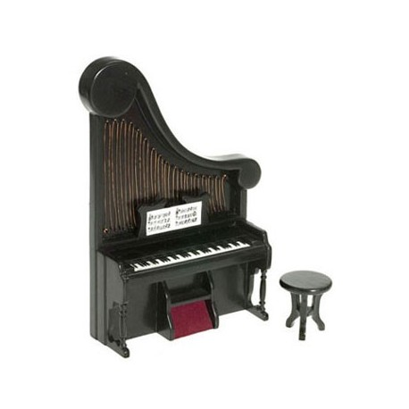 Harpsicord in Black