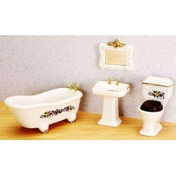 Miniature Bathroom Set
