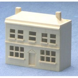 Unfinished Doll's Dollhouse