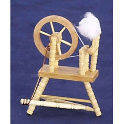 Oak Spinning Wheel